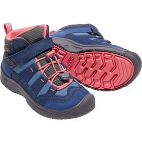 Keen Hikeport Mid WP Shoes Kinder dress blues/sugar coral